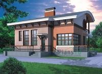 Проект кирпичного дома№073