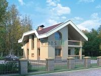 Проект кирпичного дома№074
