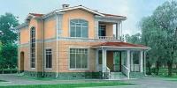 Проект кирпичного дома№078