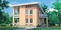 Проект кирпичного дома№080