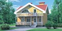Проект кирпичного дома№081