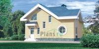 Проект кирпичного дома№084