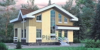 Проект кирпичного дома№086