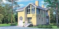 Проект кирпичного дома№088