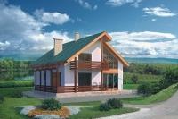 Проект кирпичного дома№090