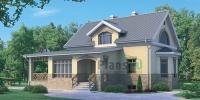 Проект кирпичного дома№091