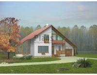 Проект кирпичного дома№096