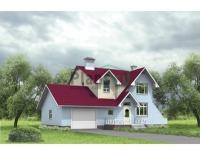 Проект кирпичного дома№100
