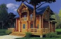Проект деревянного дома№089
