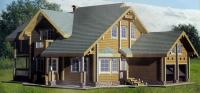 Проект деревянного дома№092