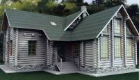 Проект деревянного дома№096
