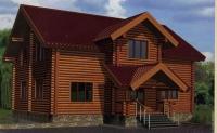 Проект деревянного дома№097