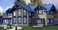 Проект деревянного дома№099